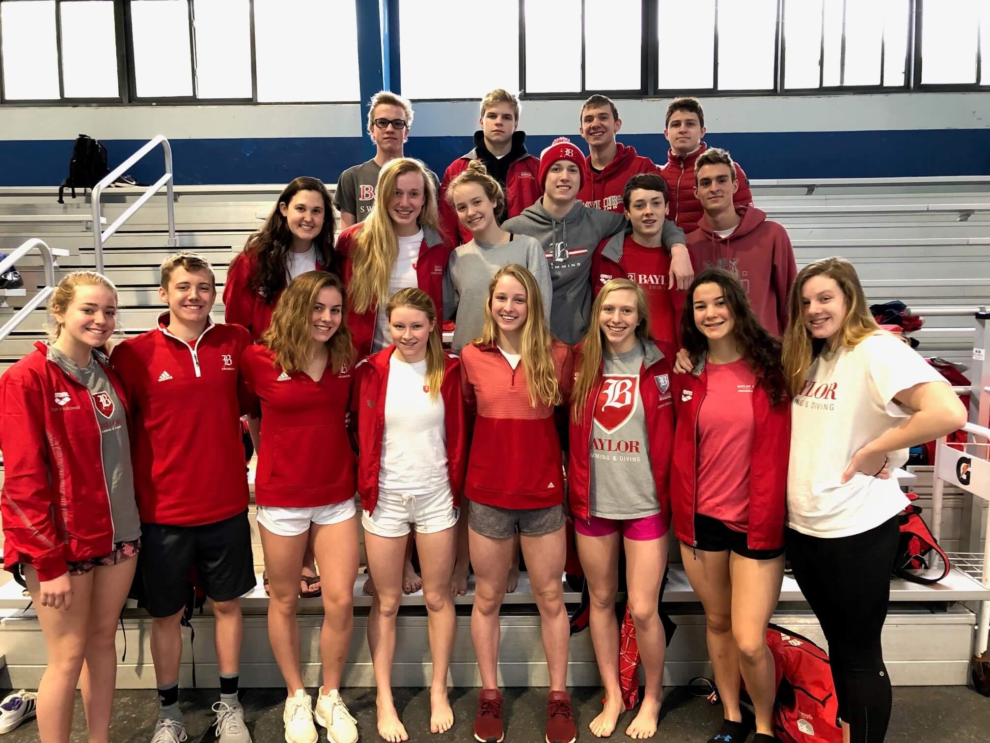 Junior Relay Swimming Team 14-04-19 - Glenlola Collegiate